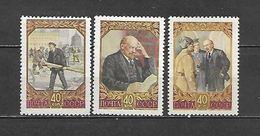 1957 - N. 1916/18** (CATALOGO UNIFICATO) - 1923-1991 USSR