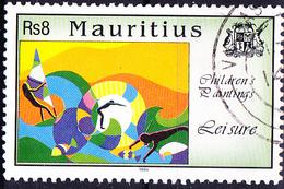 Mauritius - Kinderzeichnung Wassersport (Mi.Nr.: 788) 1994 - Gest. Used Obl. - Maurice (1968-...)