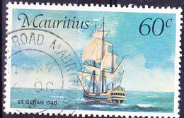 "Mauritius - Postschiff ""St. Geran"" (Mi.Nr.: 414) 1976 - Gest. Used Obl. - Maurice (1968-...)"