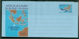 Christmas Is: 1980   Aerogramme 33c    MNH - Christmas Island