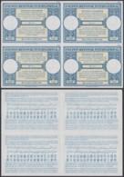 Rwanda Urundi - Coupon Réponse 1960 - Modèle De Londres - Bloc De 4 Non Découpé RR (DD) DC1659 - Autres