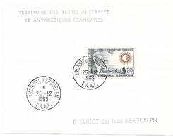 TAAF TIMBRE N° 21 Oblitéré - Terres Australes Et Antarctiques Françaises (TAAF)