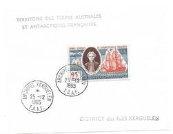 TAAF TIMBRE N° 18 Oblitéré - Terres Australes Et Antarctiques Françaises (TAAF)