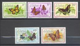 Saint-Vincent & Grenadines, Yvert 60/64, Scott 60/64, MNH - St.Vincent & Grenadines