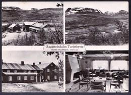 RARE PHOTOCARD ** NORWAY - RAGGSTEINDALEN TURISTHYTTE ** - HOVET HALLINGDAL - Norwegen