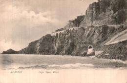 ITALIE ALASSIO CAPO SANTA CROCE CIRCULEE 1913 - Altre Città