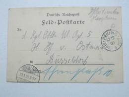 1900 , PEKING , Klarer Stempel Auf Feldpostkarte - Deutsche Post In China