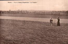 RARE  50 DUCEY VUE DU CHAMP D'EXPERIENCE LE DOMAINE ANIMEE CIRCULEE 1929 - Ducey