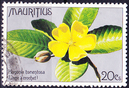 Mauritius - Liane (Hugonia Tomentosa) (Mi.Nr.: 428) 1977 - Gest. Used Obl. - Maurice (1968-...)