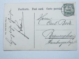 1907 , LOME , Klarer Stempel Auf Ansichtskarte - Kolonie: Togo