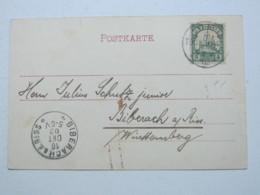 1902 , LOME , Klarer Stempel Auf Ansichtskarte - Kolonie: Togo