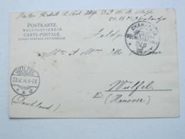 DSW , Feldpost - Ansichtskarte Aus OKAHANDJA  , Bild Schutztruppenangehörige - Colony: German South West Africa