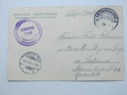 DSW , Feldpost - Ansichtskarte Aus   Keetmannshoop  , 1905  , Mit Truppensiegel - Kolonie: Deutsch-Südwestafrika