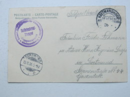 DSW , Feldpost - Ansichtskarte Aus   Keetmannshoop  , 1905  , Mit Truppensiegel - Colony: German South West Africa