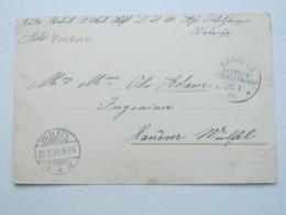 DSW , Feldpost - Ansichtskarte Aus   Karibib  , 1905 - Kolonie: Deutsch-Südwestafrika