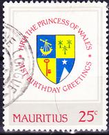 Mauritius - 21. Geburtstag Von Prinzessin Diana (Mi.Nr.: 544) 1981 - Gest. Used Obl. - Maurice (1968-...)