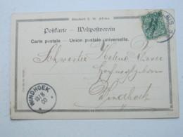 DSW , 1900 , Ansichtskarte Von Gobabis - Colony: German South West Africa