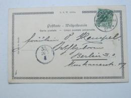 DSW , 1901 , Ansichtskarte Von Windhuk - Kolonie: Deutsch-Südwestafrika