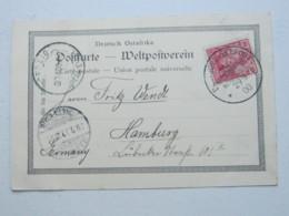 DOA , 1900 , Ansichtskarte Usambara , Karte  Mit Seepoststempel - Kolonie: Deutsch-Ostafrika