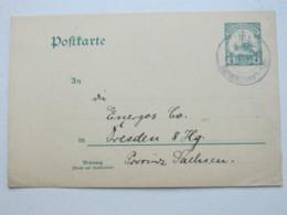 DOA , 1911 , NEU - LANGENBURG , Klarer Stempel Auf Ganzsache , Rs. Viel Text - Kolonie: Deutsch-Ostafrika