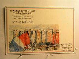 Bourses Et Salons - Le Mollay Littry - 9 è Salon - Juillet 1989 - Prise De La Bastille - Bourses & Salons De Collections