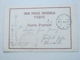 TÜRKEI , 1918 , Kraftfahr Kolonne , Karte Aus Magdala - Deutsche Post In Der Türkei