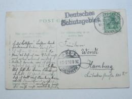 KAMERUN  ? , Deutsches Schutzgebiet , Klarer Stempel Auf Ansichtskarte Mit Seepoststempel - Kolonie: Kamerun