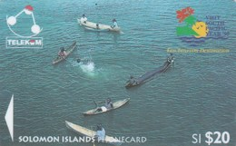 Solomon Is. - Children Of Marovo Lagoon (Logo '95) - 03SDB - Salomon