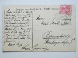 1909 , Hamburg - Westafrika , Klarer Stempel Auf Ansichtskarte - Deutschland