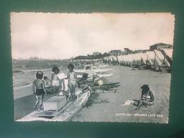Cartolina Cattolica - Spiaggia Lato Sud - 1951 - Rimini