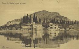 ITALIE - PUNTA S. VIGILIO - Lago Di Garda - Voyagée 1911 - Ed. E. Locatelli - Verona