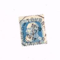 "Oblitération Centrale  ""Tournai"" Sur Yvert 76 - 1905 Grosse Barbe"