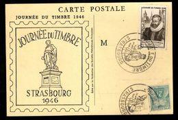 Journée Du Timbre 1946 - STRASBOURG - - Stamp's Day