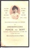 Souvenir De Anne Marie Claudia Percie Du Sert Décédée Le 25 Mai 1916 à Andancette. - Religion & Esotericism