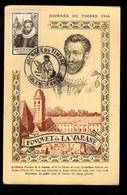 Journée Du Timbre 1946 - VALENCIENNES - Fouquet De La Varane - Día Del Sello