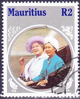 Mauritius - 85. Geburtstag Von Königinmutter Elisabeth (Mi.Nr.: 601) 1985 - Gest. Used Obl. - Maurice (1968-...)