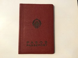 PASSPORT   REISEPASS  PASSAPORTO   PASSEPORT VISA 1961. : WEST GERMANY , AUSTRIA - Historische Dokumente