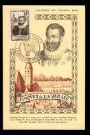 Journée Du Timbre 1946 - STRASBOURG - Fouquet De La Varane - Stamp's Day