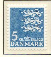 PIA - DANIMARCA -1968 : Uso Corrente - Stemma  - (Yv 306a) - Danimarca