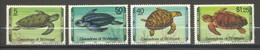 Saint-Vincent & Grenadines, Yvert 146/149, Scott 157/160, MNH - St.Vincent & Grenadines