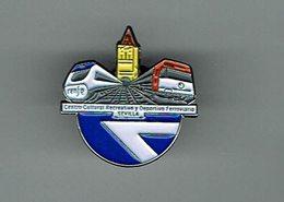 Pin Asociacion Cultural Tren Renfe - Train Bahn  Ferrocarril Railway - TGV