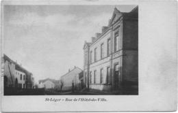 Saint-Léger Rue De L'Hotel De Ville DVD 7098 Juillet 1903 - Saint-Léger