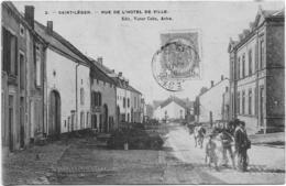 2 Saint-Léger Rue De L'Hotel De Ville Août 1909 - Saint-Léger