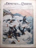 La Domenica Del Corriere 20 Novembre 1910 Mascagni Puccini Sparizione Di Tolstoi - Libri, Riviste, Fumetti