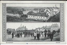 Soldats All. Dans La Caserne De Gonsenheim (Mainz)) - Casernes
