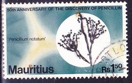 Mauritius - Pinselschimmel (Penicillium Notatum) (Mi.Nr.: 461) 1978 - Gest. Used Obl. - Maurice (1968-...)