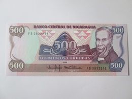 Nicaragua 500 Cordobas 1985 Banknote UNC - Nicaragua