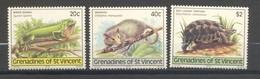 Saint-Vincent & Grenadines, Yvert 159/161, Scott 170/172, MNH - St.Vincent & Grenadines