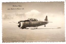 Meilleurs Voeux Pour Le Nouvel An ; Avion De Chasse Français à Idnetifier Vers 1950 - 1939-1945: 2nd War