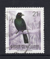 1992 PAPUA NEW GUINEA BIRD OF PARADISE Crinkle-collared Mancode - 21t  VERY FINE USED Stamp - Papouasie-Nouvelle-Guinée